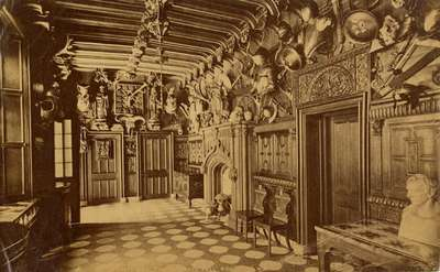 Abbotsford, the Entrance Hall