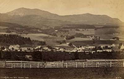 Pitlochry and Ben Vrackie