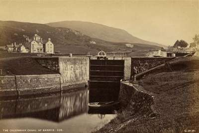 The Caledonian Canal at Banavie