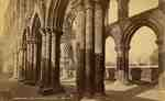 Jedburgh Abbey, South Aisle & Nave, from East