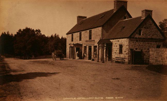 Lynwilg Hotel, Loch Alvie