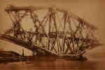 Forth Bridge, Fife Main Pier. September ...