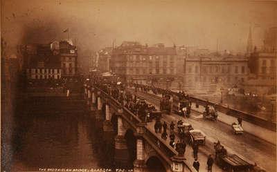 The Broomielaw Bridge, Glasgow