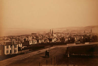 Greenock from the Lyle Road