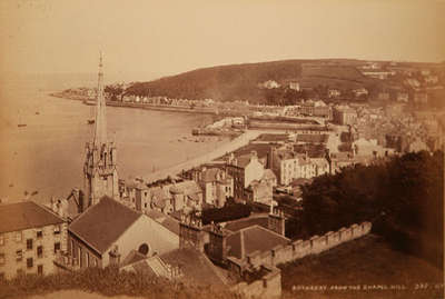 Rothesay from the Chapel Hill