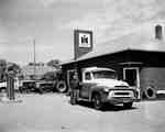 The John F. Kelly farm equipment dealership in Rothwell, Manitoba.