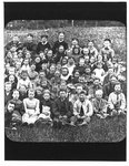 Portrait of school children with teachers.