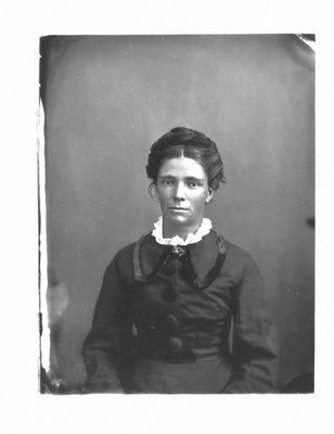 Portrait of Miss Barbara Cruikshank.