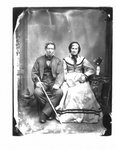 Portrait of Mr. and Mrs. Mackie, of Bon Accord.