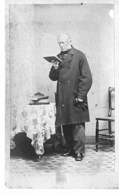 Portrait of A.D. Fordyce, School Inspector, Fergus.