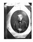"""Portrait of """"Old Ross"""", father of James Ross, of Inverhaugh."""