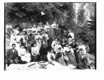 Group portrait of the Harkness Mission Circle, Elora.