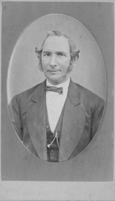 Portrait of an unidenified man, possibly Mr. Fenwick.