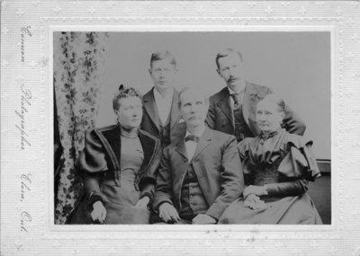 Connon Family Portrait.