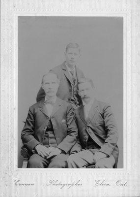 Thomas Connon, John Connon, and Thomas Connon Jr.