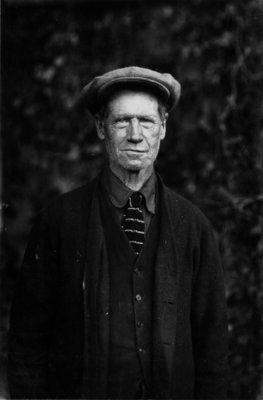 Informal portrait of an unidentified man.