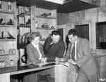 Unidentified People in a Farm Equipment Dealership, Ottawa, ON