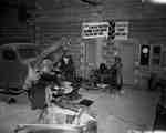 Unidentified Man Working in an Automobile Repair Shop, Harland, NB