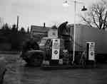 Unidentified Men Servicing a Truck, Vineland, ON