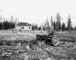 Unidentified Man Ploughing [Plowing] Land