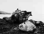 Crawler Tractor Used for Road Construction, Canso, NS
