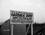 Garbage Dump Sign, Simcoe, ON