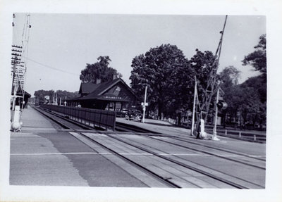 Chicago and Northwestern railroad passenger depot