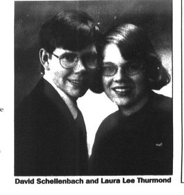 Engagements: Laura Lee Thurmond and David Platt Schellenbach