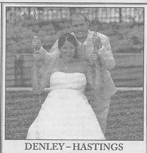 Wedding: Haley Hastings and Peter Denley