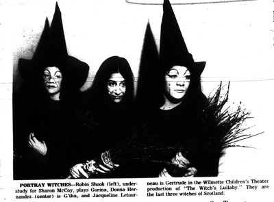 Children's Theater to Dramatize Folk Tale About Three Witches