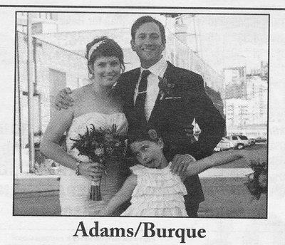 Wedding: Hannah Adams and Christopher Burque