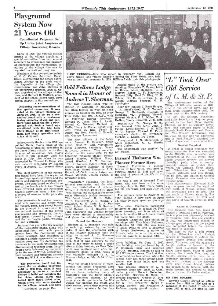 Wilmette Life (Wilmette, Illinois), 18 Sep 1947