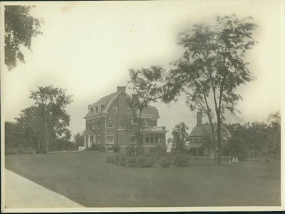 2929 Sheridan Rd., [336 Sheridan Rd.] Wilmette, view of the south side of the house