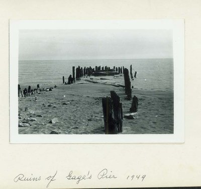Ruins of Gage's Pier