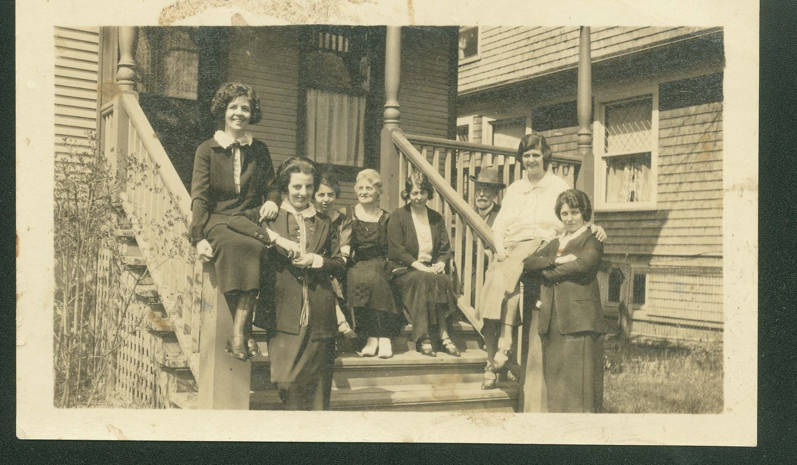 Members of the Mitchell family