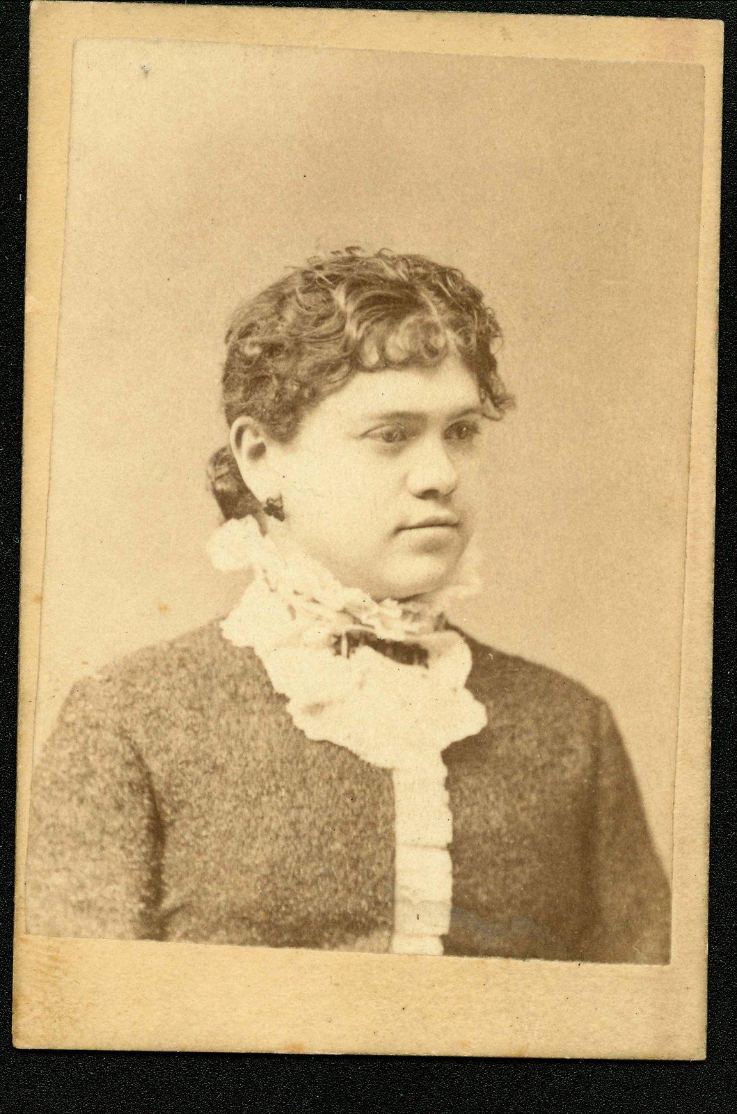 Portrait of Bessie Black