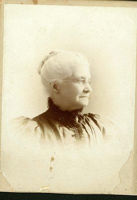 Portrait Mrs. Louisa Mitchell, undated