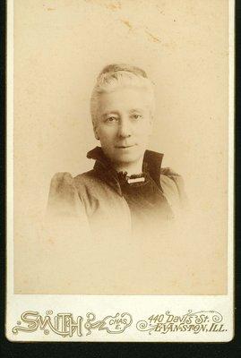 Portrait Mrs. Mathilda Parr