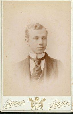 Portrait George A. Mitchell, 1889