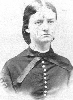 Portrait of Fidelia Burroughs