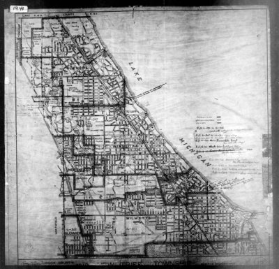 US Census Enumeration District Map Of New Trier Township - Map from 1940 us