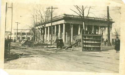View of Wilmette after the Palm Sunday Tornado on March 28, 1920, No.33