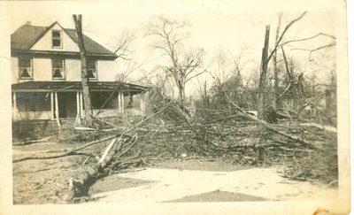 View of Wilmette after the Palm Sunday Tornado on March 28, 1920, No.32