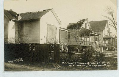 View of Wilmette after the Palm Sunday Tornado on March 28, 1920, No.22