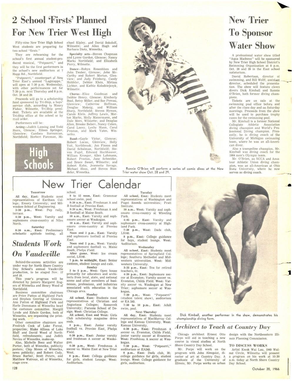 Wilmette Life (Wilmette, Illinois), 20 Oct 1966