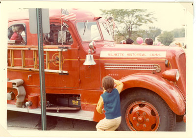 Historic fire truck