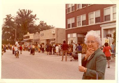 Miss Helen Siniff, head librarian of Wilmette Public Library