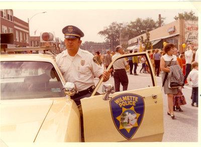 Photograph of Officer Jerry Van Helderbreak