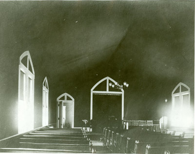 Interior of First Congregational Church of Wilmette