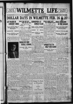 Wilmette Life (Wilmette, Illinois), 22 Feb 1924